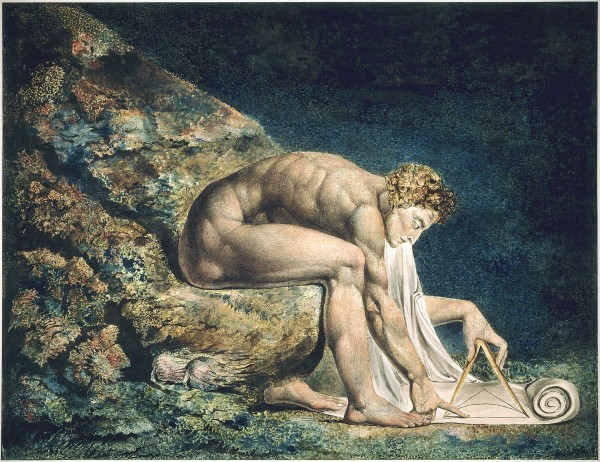 A portrait of William Blake