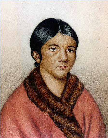 ortrait of Demasduit in 1819, a Beothuk captured and renamed Mary March by her   captors.