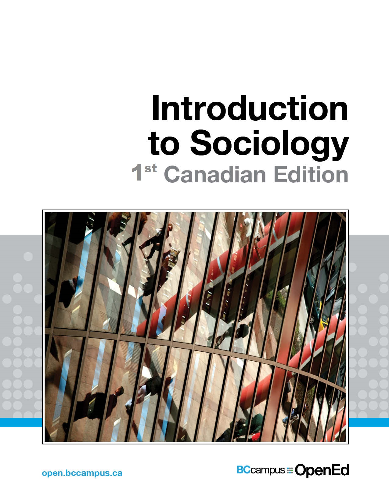 Cover image for Introduction to Sociology - 1st Canadian Edition