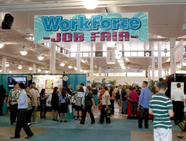 A job fair.