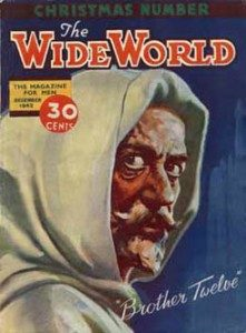 The Wide World magazine featuring Brother Twelve.