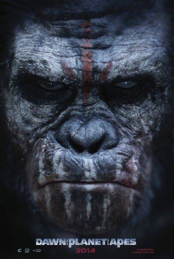 """Dawn of the Planet of the Apes"" movie poster"