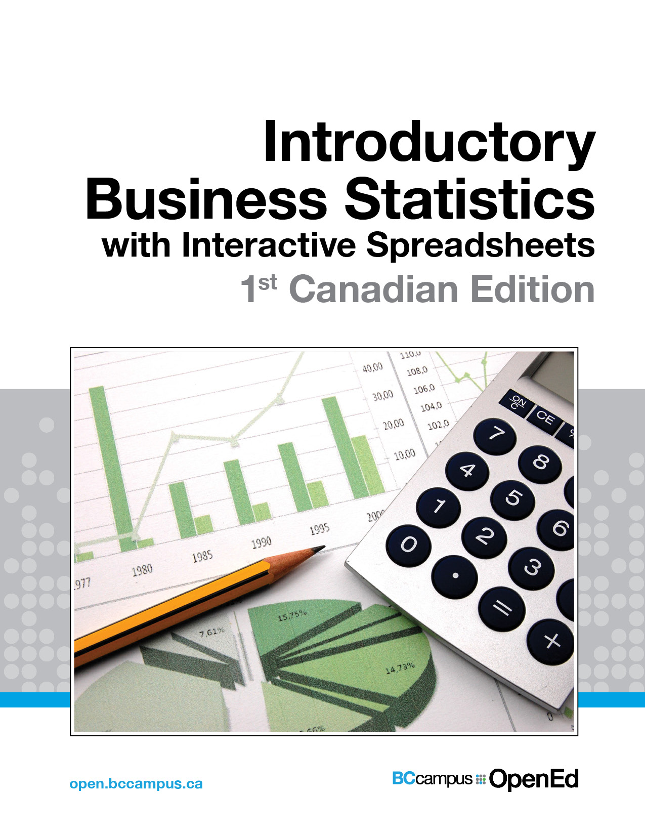 Cover image for Introductory Business Statistics with Interactive Spreadsheets - 1st Canadian Edition