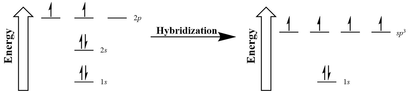 Valence Bond Theory And Hybrid Orbitals Introductory Chemistry