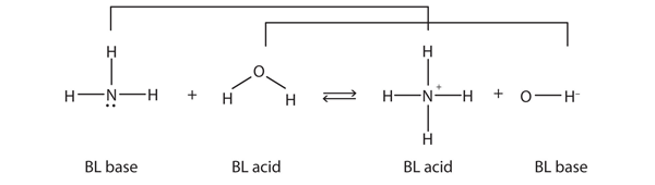Bronsted Lowry Acids And Bases Introductory Chemistry 1st