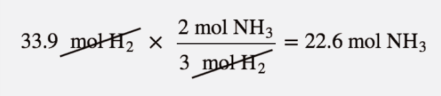 Mole-Mass and Mass-Mass Calculations – Introductory Chemistry – 1st