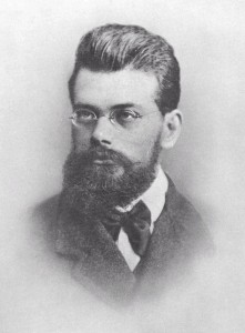 Figure #.#. Portrait of Boltzmann at age 31.