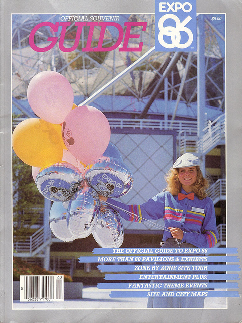 A magazine on Expo 86.