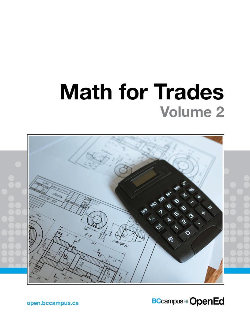 Cover image for Math for Trades: Volume 2