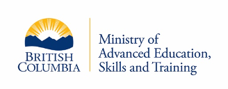 Logo for the Ministry of Advanced Education, Skills and Training