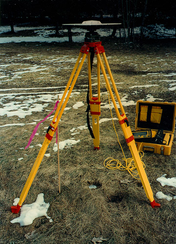 Photo of a GPS base station