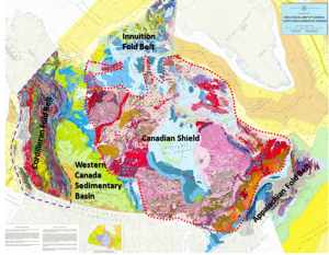 [SE after Geological Survey of Canada]