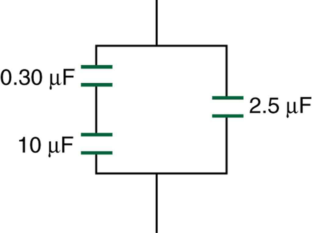 capacitors in series and parallel  u2013 college physics