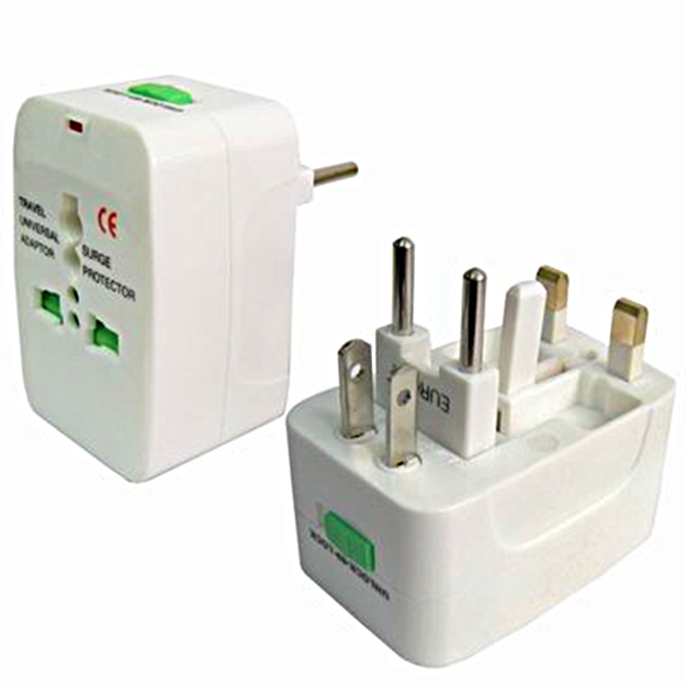 A photo graph of two plug in transformers operated on voltages other than common one hundred twenty volt AC.