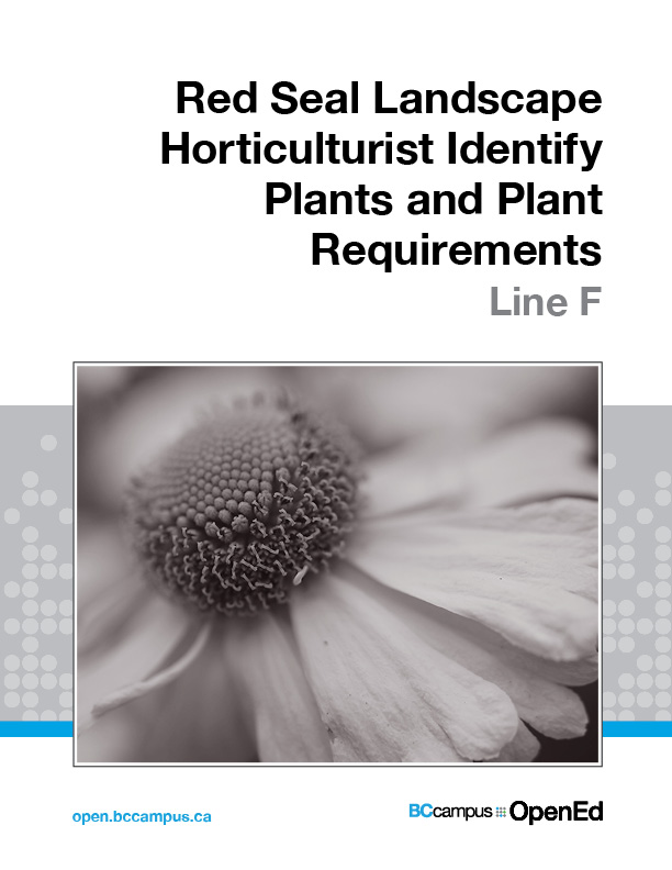 Cover image for Red Seal Landscape Horticulturist Identify Plants and Plant Requirements