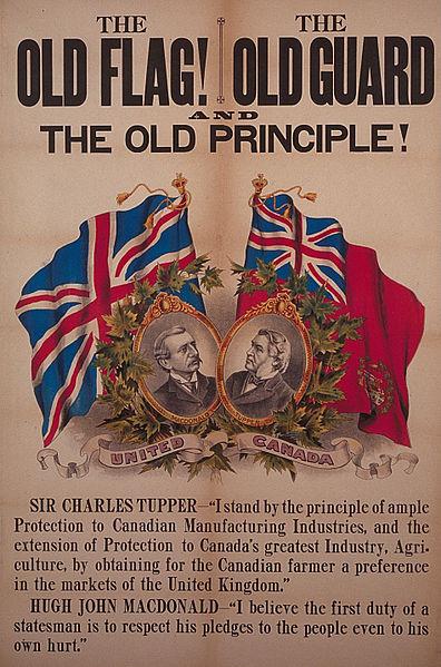 Political poster. Long description available.