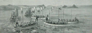 A few hundred French, English, and Mohawk Canadians volunteered to lend their river-navigating skills to a fated British mission in 1884.