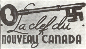 A promotional postcard from Arcand's PNSC, 1930s.