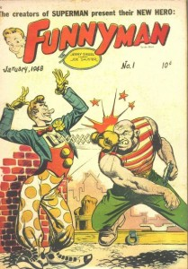 Vastly less successful and memorable than Superman was Shuster and Siegel's late '40s attempt to put the 'comic' back into 'comic book.'