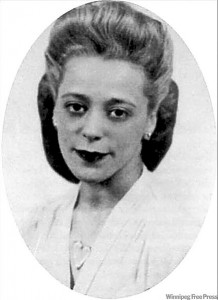 In 1946 Viola Desmond, an Afro-Canadian Haligonian, sat down in the whites-only section of a New Glasgow cinema. She was ejected, roughed up, and jailed for the night. Her subsequent legal battle, though unsuccessful, was a catalyst in the fight for greater rights among African-Canadians.