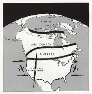 Whether NORAD's triple radar defence structure would do what it was designed to do was never fully determined. https://commons.wikimedia.org/wiki/File:Dew_line_1960.jpg