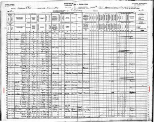 The principal instrument of demographic history is the census, particularly the enumerators' ledgers, like this one from Winnipeg in 1901. https://commons.wikimedia.org/wiki/File:1901_Winnipeg,_Manitabo,_Canada_census.jpg