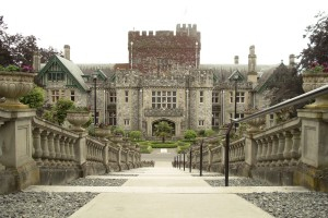 Their coalminers lived in shacks but the Dunsmuirs lived in style. James Dunsmuirs's Hatley Castle near Victoria has, since his death, served as a military college and Royal Roads University, as well as the home of the X-Men in a series of movies. (Photo by Smably at English Wikipedia - Transferred fromen.wikipediato CommonsbyKurpfalzbilder.deusing CommonsHelper., Public Domain, https://commons.wikimedia.org/w/index.php?curid=9433304)