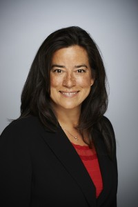 Jody Wilson-Raybould (b. 1971) is a Kwakwaka-wakw politician from Comox and elected from Vancouver in 2015. She is currently the federal Minister of Justice, the first Aboriginal person to hold that position. (Photo by Erich Saide, CC BY-SA 3.0, https://commons.wikimedia.org/w/index.php?curid=43120708)