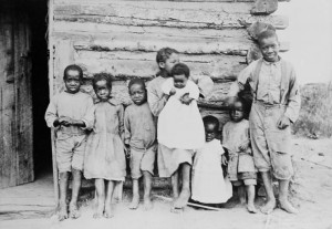 African-Americans made their way to north-central Alberta, like this group at Athabasca Landing. (Canada. Dept. of Interior / Library and Archives Canada / PA-040745) http://collectionscanada.gc.ca/pam_archives/index.php?fuseaction=genitem.displayItem&rec_nbr=3193364&lang=eng