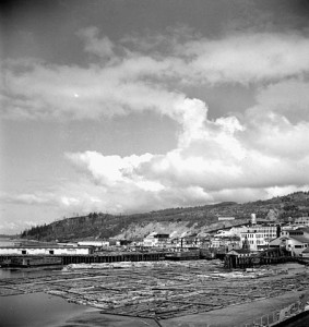 The company town of Powell River contained greater diversity among its immigrant community than most older central Canadian and Maritime communities. (Photo by Harry Rowed. Natinoal Film Board of Canada, Library and Archives of Canada, Mikan #3627400) http://collectionscanada.gc.ca/pam_archives/index.php?fuseaction=genitem.displayItem&rec_nbr=3627400&lang=eng