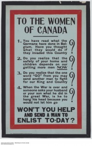 Ontario War Poster Collection, ca.1915. (File no. C 233-2-4-0-263)