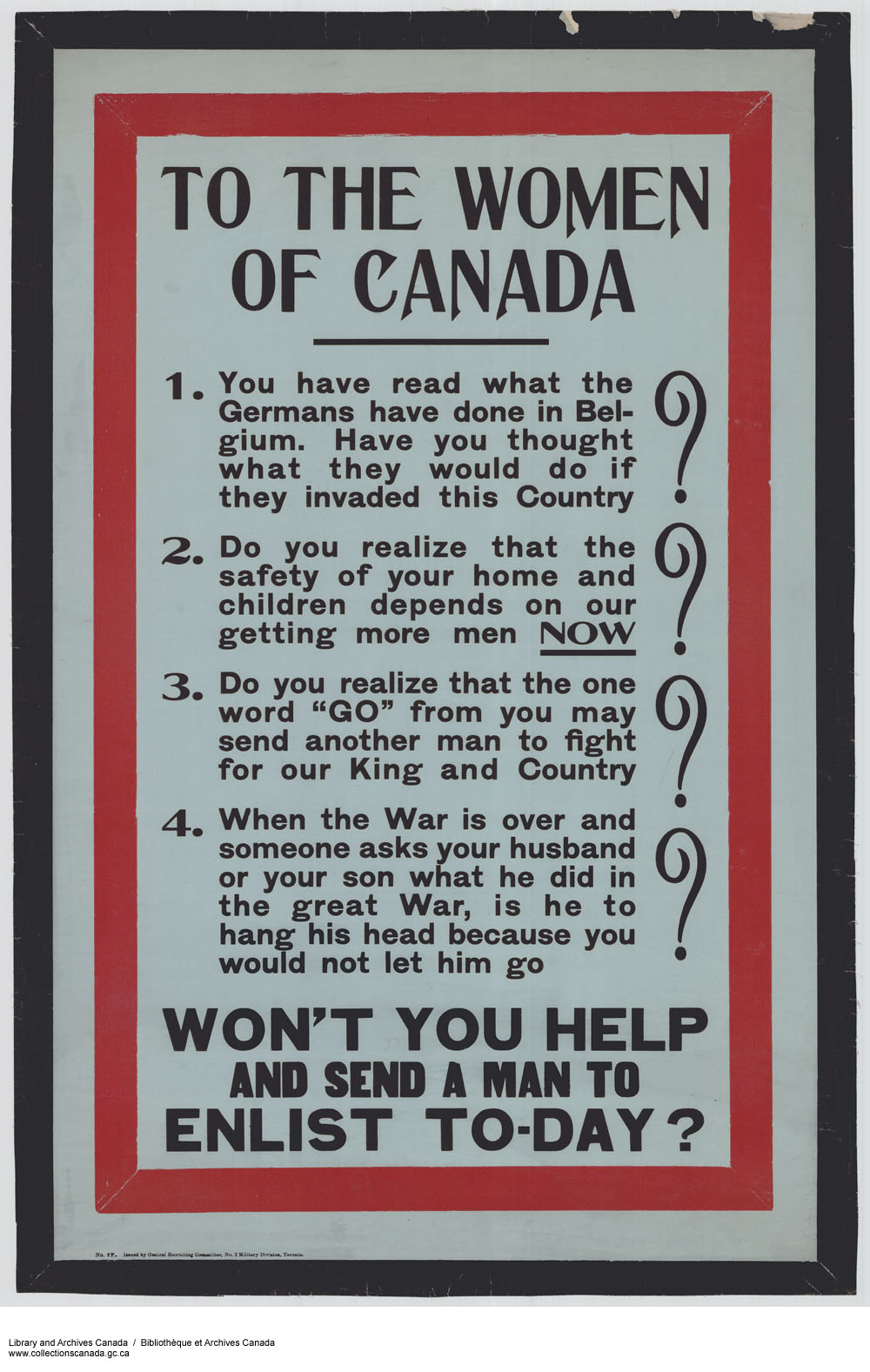 12.8 The Art of War – Canadian History: Post-Confederation