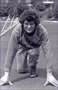 Referenda notwithstanding, it was the story of Terry Fox that gripped Canadians in 1980, a drama that unfolded with a distinctive hopping gait and a tragic end. Fox is seen here ca. 1977 before his amputation.