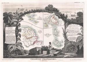 Victor Levasseur's map. Long description available.