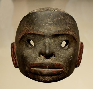 A simple stone mask.