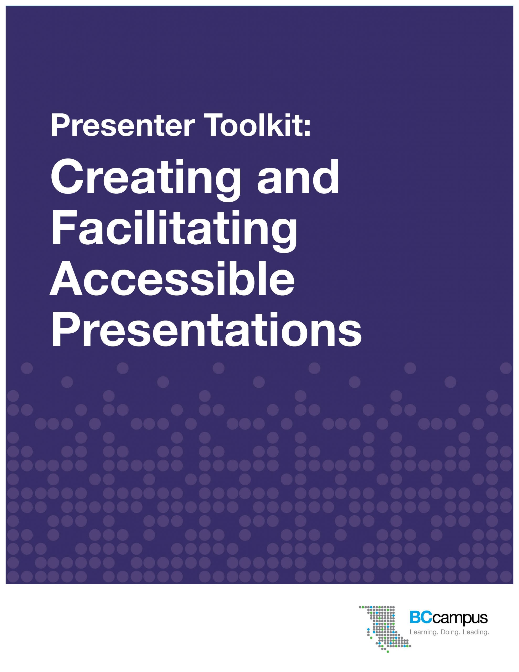 Cover image for Presenter Toolkit