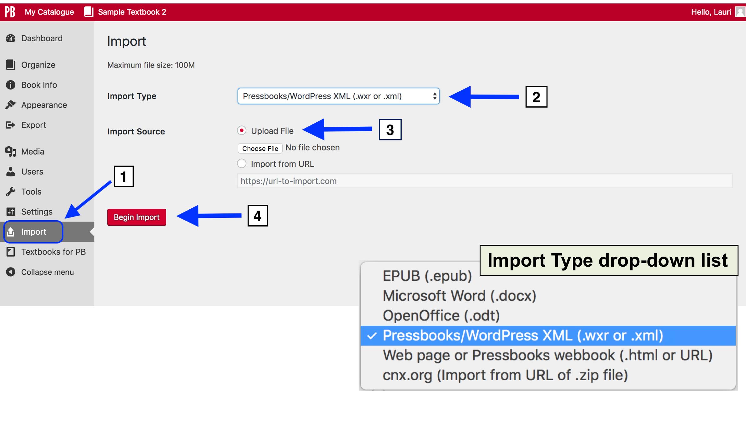 Import a Pressbooks File – Pressbooks Guide