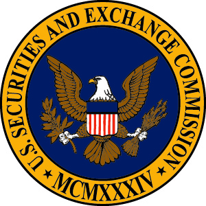 A picture of the seal of the Securities and Exchange Commission (S E C).