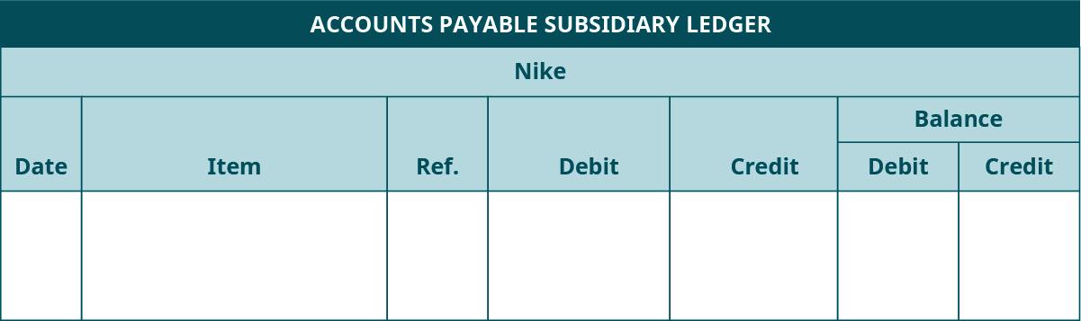 subsidary accounts