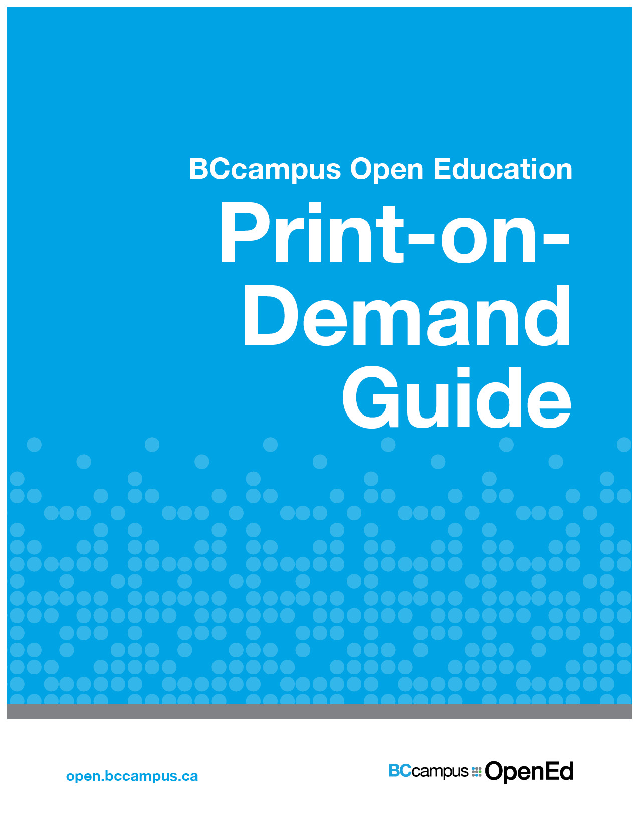 Cover image for Print-on-Demand Guide