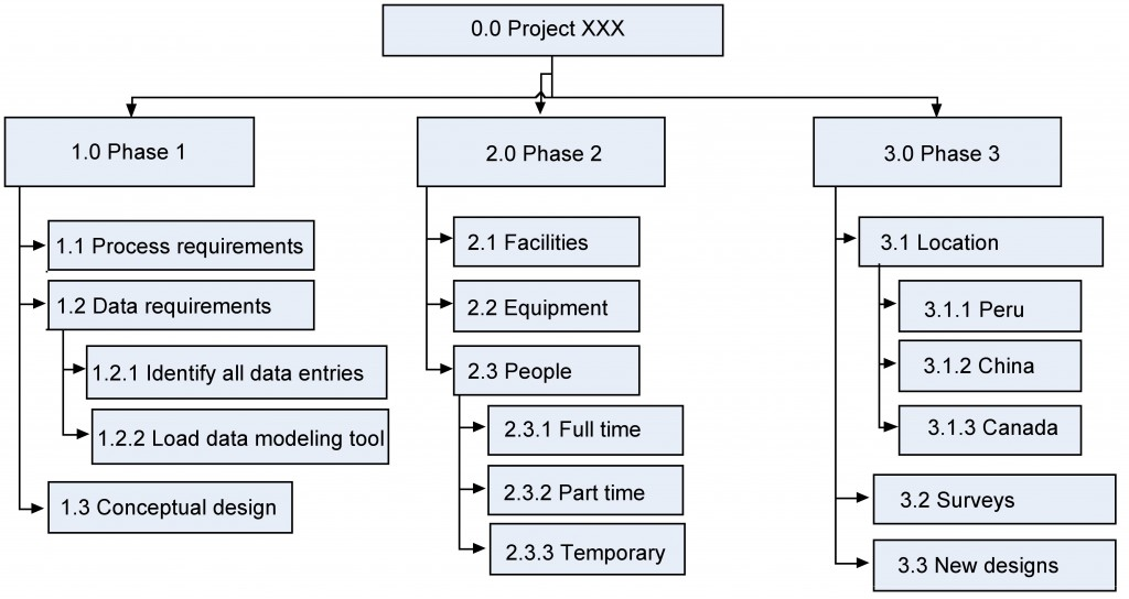 Wbs Project Project Management
