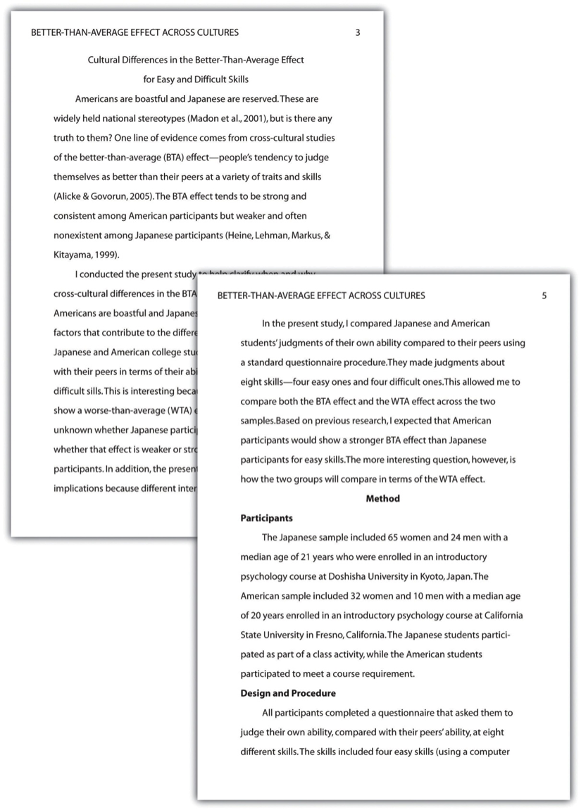 Fear Of Public Speaking Essay  Famous Person Essay also Essay Of Argumentation Writing A Research Report In American Psychological  Five Paragraph Narrative Essay