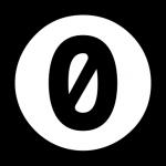 A zero inside a circle