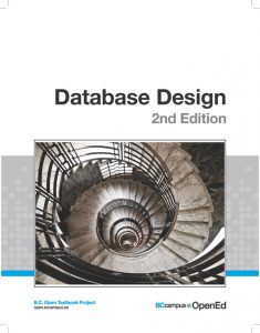 The cover for Database Design