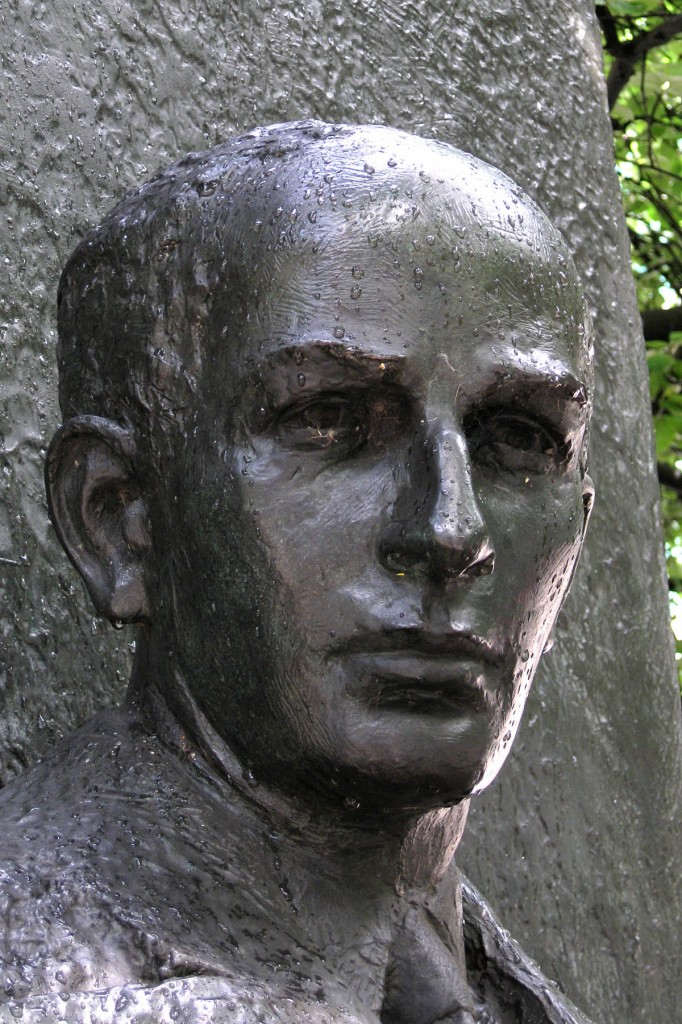 Sculpture of Raoul Wallenberg