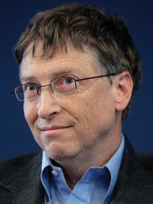 6bb07a520 Figure 2.8  Former Microsoft CEO Bill Gates exemplifies a CEO who has  reached icon status.