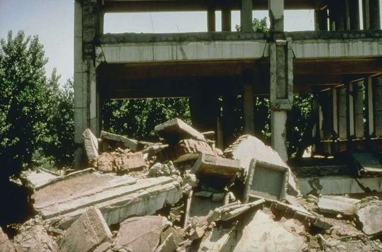 Tangshan Earthquake Aftermath