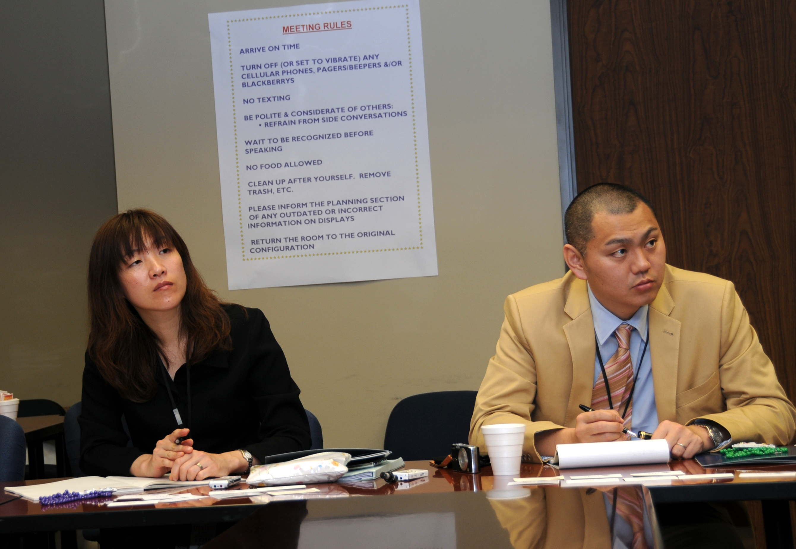 Japanese Delegations Visits FEMA Louisiana Recovery Office