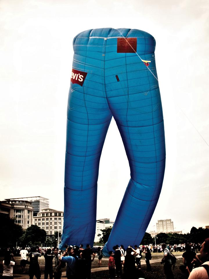 Levi's Jeans Hot Air Balloon