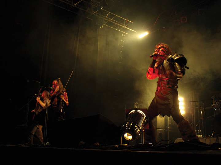 Finnish Metal Band Turisas